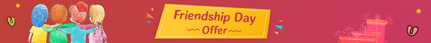 Best online Offers on Friendship Day