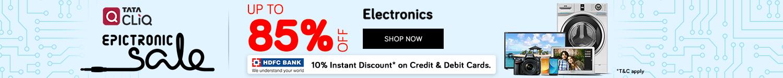 Tata CLiQ Epictronic Sale