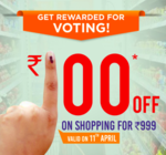 Big Bazaar Election Special Offer: 100 off on 999 shopping (Andra Pradesh /Telangana only)