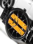 MINI Men Black & Yellow Analogue Watch 160905_OR11 67%OFF
