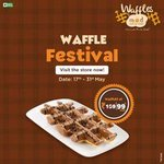 Mad Over Donuts Waffle festival: Waffles @₹99 (17th-31st May)