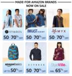 Amazon Fashion Wardrobe Refresh Sale Offers Live @ 12PM for Prime Members (19 - 23 June)
