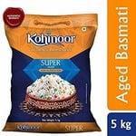 Kohinoor Super Silver Aged Basmati Rice,5kg (Pantry)