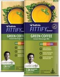 50% Off : Saffola FITTIFY Gourmet Green Coffee Instant Beverage Mix, Assorted Pack, 2 X 10 g