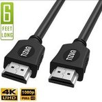 TIZUM Slim 1.8M HDMI Cable (Buy More Save More)