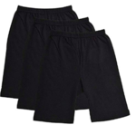 Strechable Free Size Upto Large, Cycling, Yoga, Activity, Gym, Slex, Tights Shorts for Girls & Women's Black @ 1 + 40