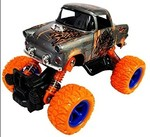 Emob 4 Wheel Scorpion Graphic Printed Rock Crawler Dual Pull Back Metal Die Cast Car Toy