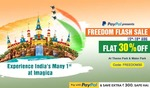 Imagica Freedom Sale (15-18th Aug) : Flat 30% Off | Buy 3 Get 1 Free + Extra 300 Off via PayPal