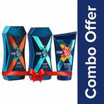 Amazon pantry deal - Set Wet Studio X Brightening Face Wash, 100 ml with Cooling and Style Shampoo, 180ml and Refresh Body Wash, 180ml