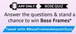Amazon Bose Frame quiz
