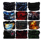 Generic Unisex Head Wrap Bandana (Multicolour, Free Size) - Pack of 6