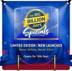 Flipkart BBD Specials opens on 18th September ( New launches, Limited editions designed for BBD )