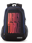 American Tourister 32 Ltrs Black Casual Backpack (AMT Fizz SCH Bag 03 - Black)