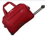 Skybags 20 inch/50 cm Italy Duffel Strolley Bag  (Red) at Rs.1099