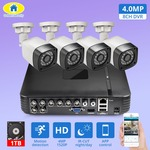 AliExpress 4pcs 4MP 4CH AHD DVR CCTV Camera Security System with 1TD HDD
