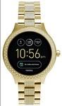 Fossil Venture Analog-Digital Black Dial Women's Watch - FTW6001