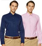 Diverse Men's Printed Regular Fit Formal Shirt (Combo Pack of 2)