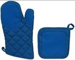 Cannon Solid 2 Pcs Kitchen Linen Set (Royal Blue)