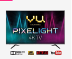VU 108 cm (43 Inches) Smart 4K Ultra HD LED TV Pixelight 43PX (Titanium Grey, 2019 Range)