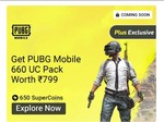 [Upcoming] Reedem 650 coins & Get PUBG Mobile 660 UC Credits