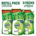 Dettol Original Liquid Soap Refill - 750 ml Pack of 3
