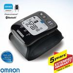 Omron HEM 6232T Wrist Blood Pressure Monitor (Black) + Extra 10% discount with SBI Cards