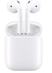 Apple AirPods with Charging Case Bluetooth Headset with Mic  (White, In the Ear)