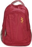 26L Skybag Laptop Backpack  (Red, Grey)