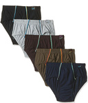 (Apply 15% coupon)  Euro Men's Cotton Brief (Pack of 5) (Colors May Vary)