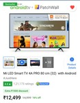 Get Mi 4a pro 32inch at 8449rs