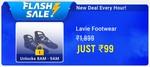 Upcoming  Lavie footwear loot at 8 - 9 AM