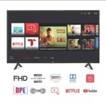 Lowest Ever! TCL 100.3 cm (40 Inches) Full HD LED Smart TV 40S62FS (Black)