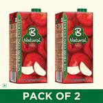 B Natural juices 1L (Pack of 2) @ ₹140