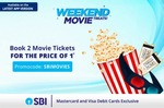 Paytm Book 2 Movie Tickets using SBI Visa & Master Debit Card & Get 50% Discount upto Rs.200 on Total Ticket Price (Only valid on Sun)