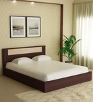 Takai Queen Size Bed in Wenge Finish by Mintwud