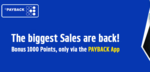 This Diwali Sale Shop for Min 3000₹ & Earn 1000 Payback Points