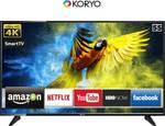 Koryo 139.7cm (55 inch) Ultra HD (4K) LED Smart Android TV  (KLE55EXVJ91UHD)