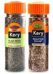 Kery Diet Roasted Flax Seeds Alsi & Roasted Saunf, 2 Bottles, 170g [Mukhwas Mouth Fresheners]