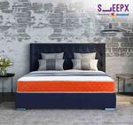 52% off on SleepX Presented by Sleepwell Dual mattress - Medium Soft and Hard (75*60*6 Inches) [Apply ₹250 coupon + ₹750 cashback as Amazon Pay Balance ] Save extra with bank offers