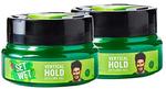 Set Wet Vertical Hold Hair Styling Gel for Men, 250 ml (Pack of 2) [Total 500 ml]