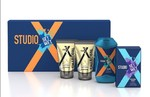 Set Wet Studio X Men's Grooming Kit, 490 ml (Charcoal Face Wash, Charcoal Peel-Off Mask, Perfume Spray and Shampoo)