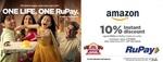 (UpComing) Amazon - 10% cashback upto 400 using RuPay cards