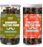 Delight Foods Calcutta Meetha Paan (Without Supari) (Calcutta Paan 100g + Banarasi Meetha Paan Mukhwas 100g)
