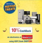 Reliance Digital 10% Cashback upto Rs 3000 applicable on HDFC Bank Debit/Credit Cards