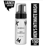 Makhai Men's Intimate Hygiene Foam Wash, No Harsh Chemicals, Sulfate Free, Paraben Free - 150 ml