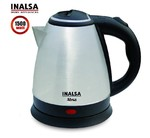 Inalsa Electric Kettle Absa-1500W with 1.5 Litre Capacity, (Black/Silver) - Prime Exclusive