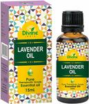 Divine India Lavender Essential Oil, 15ml