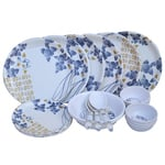 BestPrice Guaranteed: 24 Pcs New Dinner Set Combo @ Just Rs 639 + Free Shipping