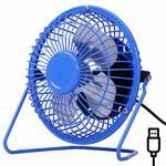 USB Mini Fan Aluminum Leaf USB Small Fan Wrought Iron Fan Mini Fan Plastic Fan