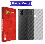 CELLUTION Back screen protection Pack of 2 for Samsung M30s @ 99